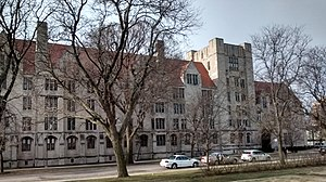 Housing at the University of Chicago - Burton-Judson Courts
