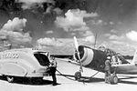 Bush Field - Vultee BT-13 Valiant being Refueled.jpg