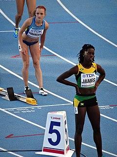 Tiffany James Jamaican athlete