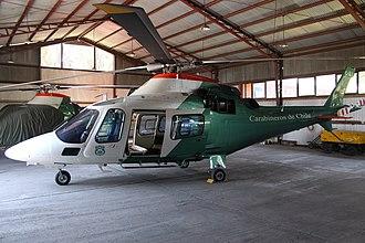 Carabineros de Chile - C-21 Agusta A109 Chilean Police