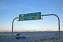 California State Route 14 - Wikipedia