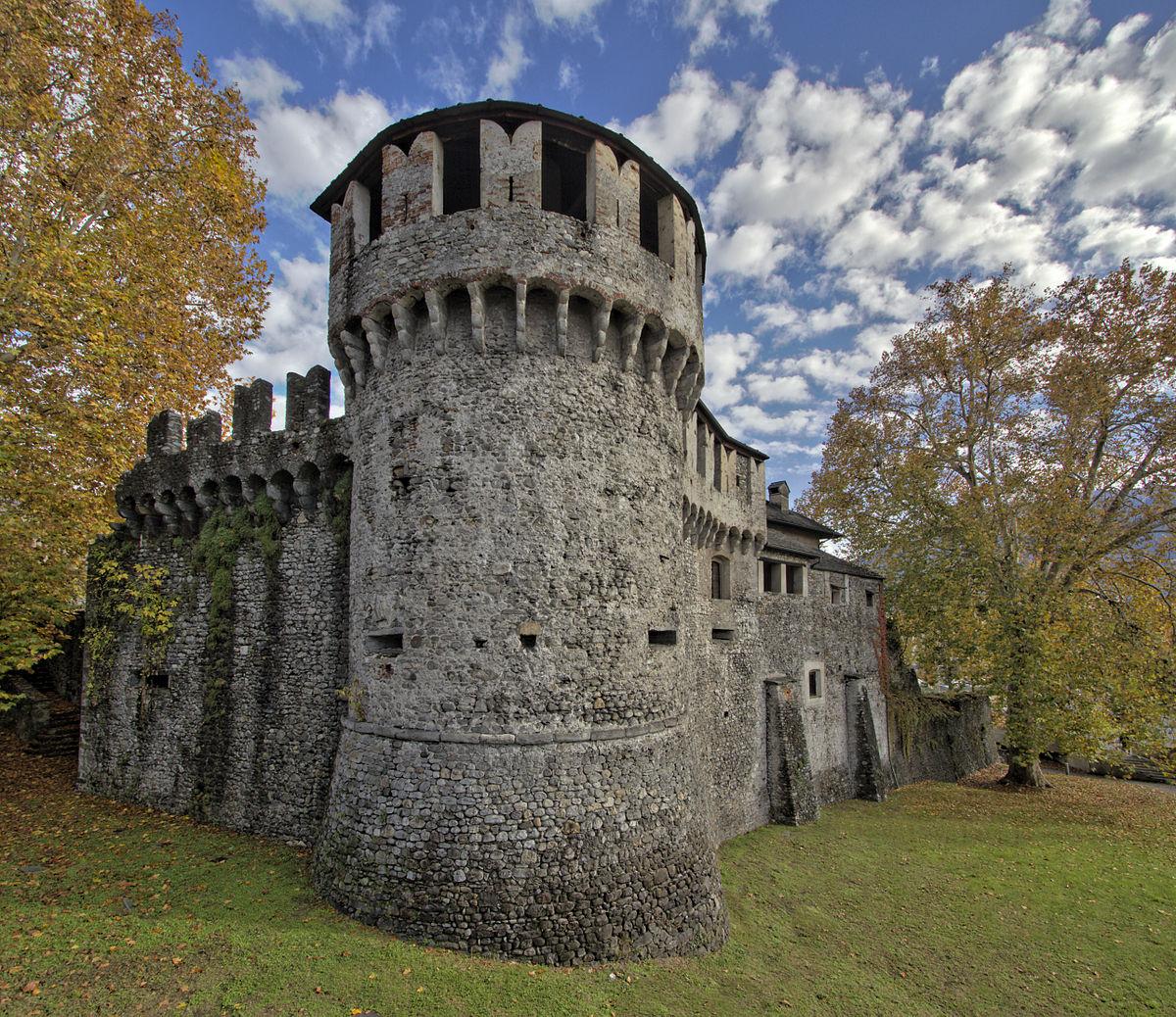 Visconteo Castle (Locarno) - Wikipedia
