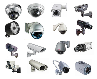 Closed-circuit television camera - Different types of CCTV cameras.