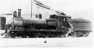 CGR 5th Class 4-6-0 1891 - Reboilered CSAR no. 327, SAR no. 0327, c. 1920