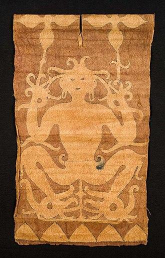 Barkcloth - Barkcloth jacket from Kalimantan.