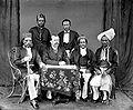 COLLECTIE TROPENMUSEUM Portret van de raja assistent-resident en hoofden Gorontalo Sulawesi TMnr 10020672.jpg