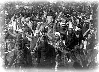Minahasan people - Kabasaran Minahasa.