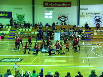 Canberra Roller Derby League - Red Bellies introduction