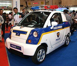 CT&T United - Image: CT&T Police EV