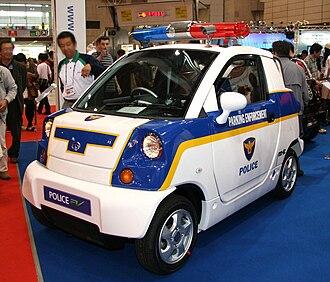 CT&T United - Image: CT&T Police EV