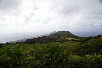 Faial Island - The Cabeço dos Trinto in the Central Zone of the island of Pico