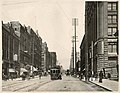 Cable car at 2nd Ave and Cherry St, Seattle, 1908 (MOHAI 9679).jpg