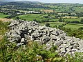 Caer Drewyn Celtic Hillfort between the Clwydian Range and the Berwyn Mountains, Corwen, Wales; early Iron Age 12.jpg