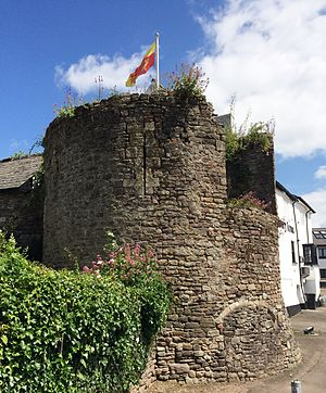Caerleon - Round Tower at The Hanbury Arms, 2010