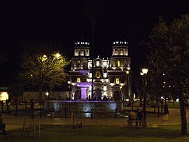 Cajamarca Plaza Cathedral.JPG