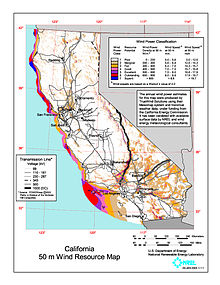 Wind Power In California Wikipedia