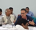Cam Donaldson (with Nobel Laureate, Dr Muhammad Yunus) in Dhaka, July 2017.jpg