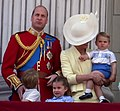 Cambridge family at Trooping the Colour 2019 - 01.jpg