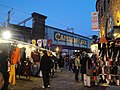 Camden Lock railway bridge in December 2011.JPG