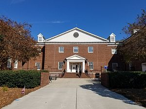 University of North Carolina at Wilmington - Cameron Hall, the main building of the Cameron School of Business
