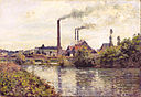 Camille Pissarro - The Factory at Pontoise - Google Art Project.jpg