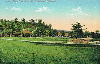 Iligan - Camp Overton in 1900, an American Armybase, currently the location of Global Steel Philippines Inc.