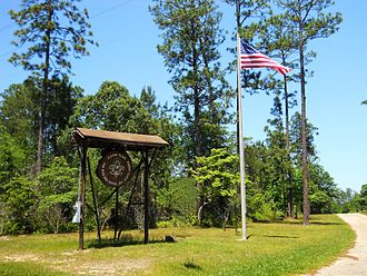 Fruitland Park, Mississippi - Entrance to Camp Tiak