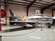 Canadair CL-13B Sabre Mk.VI 'U. S. Air Force - FU-472' (N3842H) (26095875101).jpg