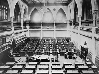 House of Commons of Canada - The Canadian House of Commons, 1916