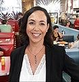 Candidate for Congress Lisa Mandelblatt at Vickis Diner in Westfield NJ.jpg