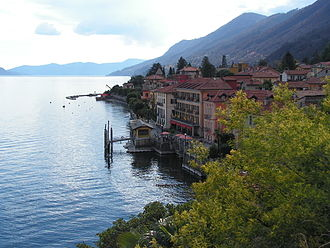 Cannero Riviera - Image: Cannero Riviera Lungolago