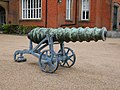 Cannon to the North of the Royal Military Academy, Woolwich (II).jpg