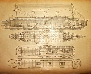 SS Cap Arcona - Plans of Cap Arcona