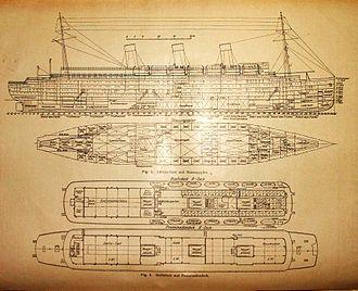 SS Cap Arcona - Plans of Cap Arcona