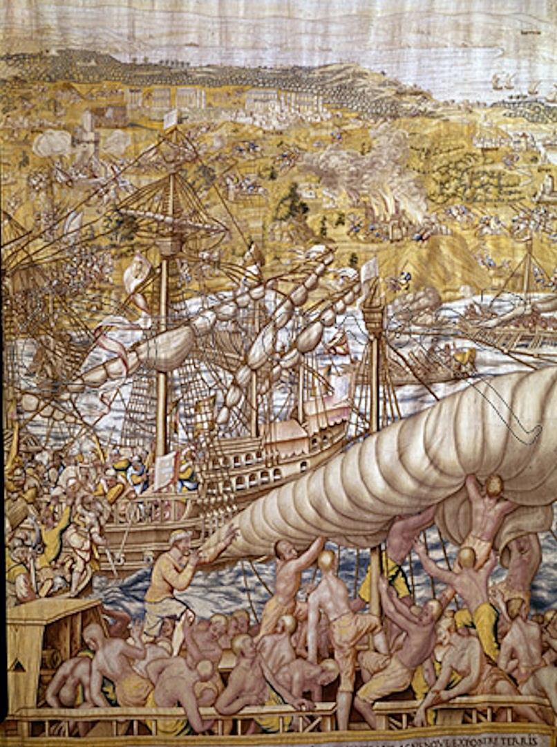 Capture of Tunis 1535 liberation of 20000 Christian captives