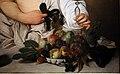 Caravaggio, bacco, 1595-97 ca. , 03 cesto di frutta.jpg
