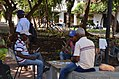 Card game, Cartagena, Colombia Street Scenes (24310390232).jpg