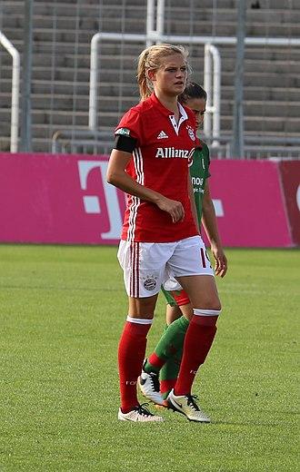 Carina Wenninger - Wenninger with Bayern Munich in 2016