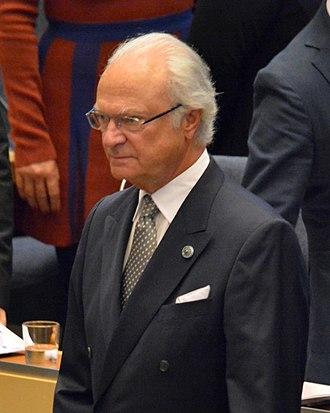 Outline of Sweden - King Carl XVI Gustaf