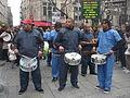 Carnaval des Femmes - Fête des Blanchisseuses 2013 - Le Groupe Gwada (Gwada signifie Guadeloupe en créole).JPG