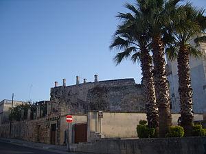 Carpignano Salentino - Image: Carpignano Salentino mura