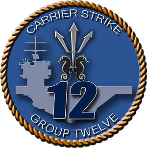 Carrier Strike Group 12 - Image: Carrier Strike Group 12 logo