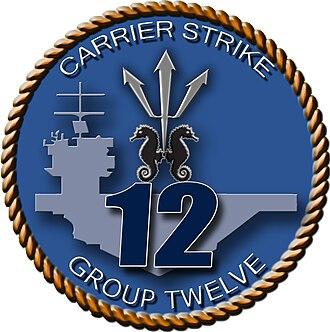 Carrier Strike Group 12 - Carrier Strike Group Twelve emblem
