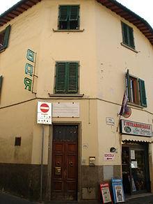 La casa natale di Gino Bartali