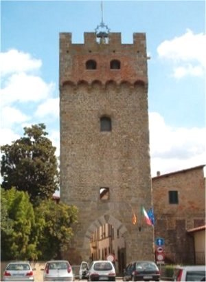 Castelfranco Piandiscò - View of Castelfranco di Sopra