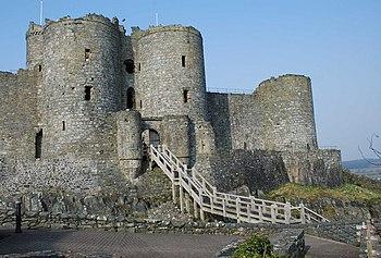 Castell Harlech - geograph.org.uk - 1215326