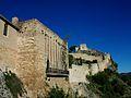 Castell de Xàtiva des de l'exterior de la porta del Socors.JPG