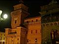 Castello estense di Ferrara - notturno.jpg