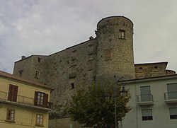 The castle of Roccadaspide