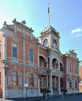 City of Castlemaine - Location in Victoria